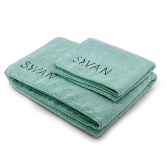 🌿 Sivan Yoga Towels • Set of 2